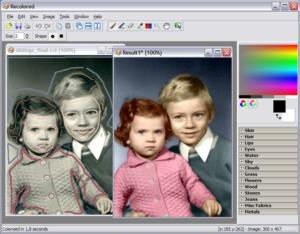 Окрашивание черно-белых фотографий